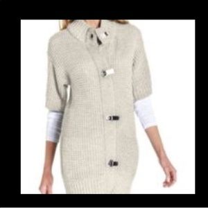 Michael Kors Cardigan with Gold Clasps